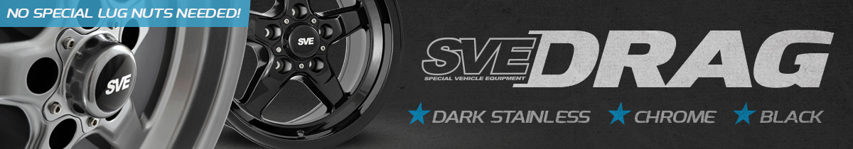 SVE Drag Wheels